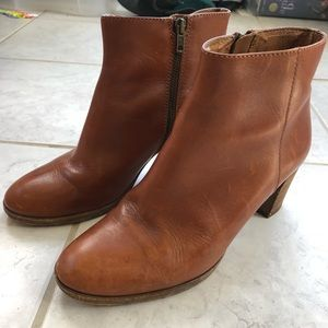 J. Crew Aggie Chestnut Brown Boots Booties